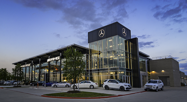 Skinner masonry llp mercedes benz dealership of mckinney for Mercedes benz dealers in texas